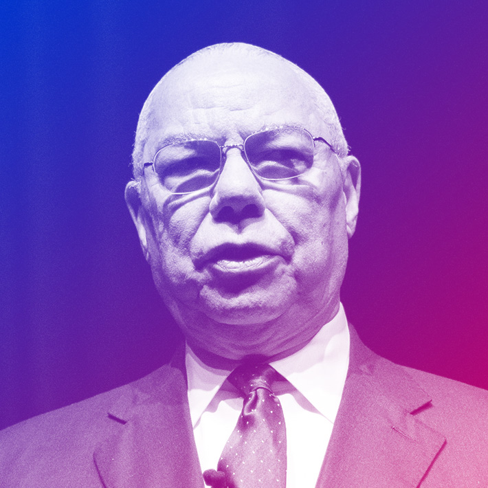 Colin Powell, Former U.S Secretary of State