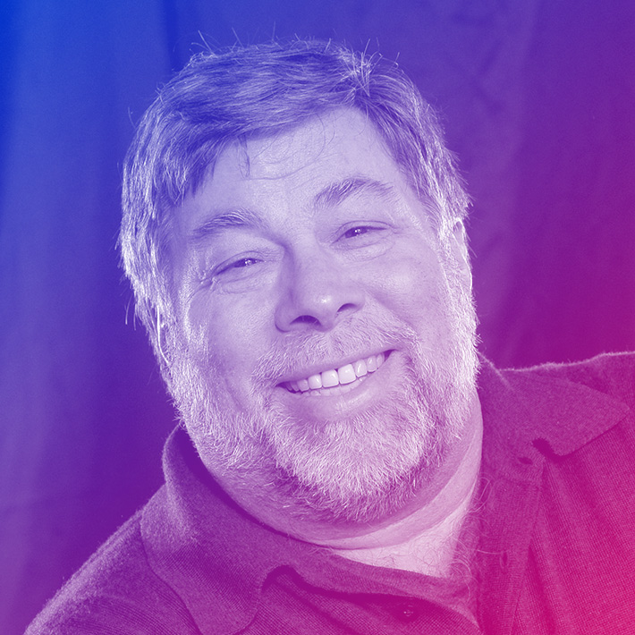 Steve Wozniak, Co-Founder, Apple Computer Inc., Silicon Valley Icon